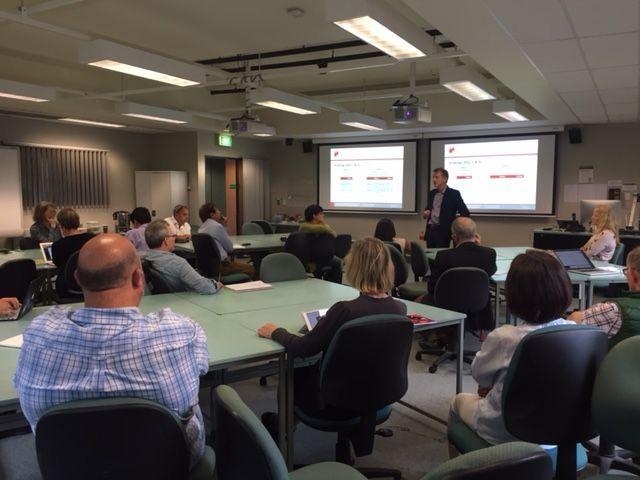 Presentation at Macquarie University in Sydney