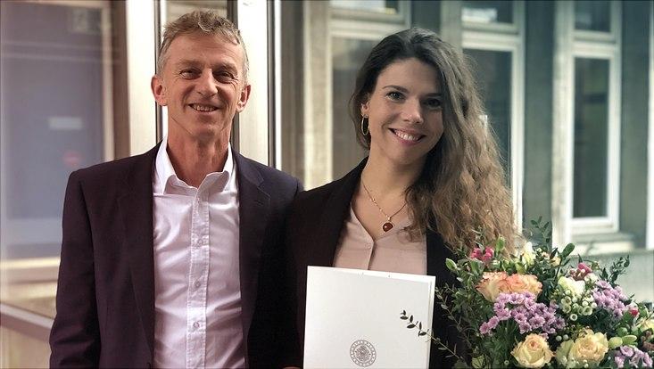 Prof. Dr. Jens Siemon und Dr. phil. des. Anja Augsdörfer